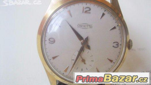 Sberatelske luxusne svycarske panske hodinky Onsetta WATCH I