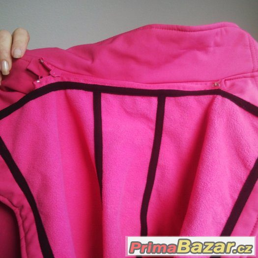 Funkční softschelový kabát s fleesovou podšívkou