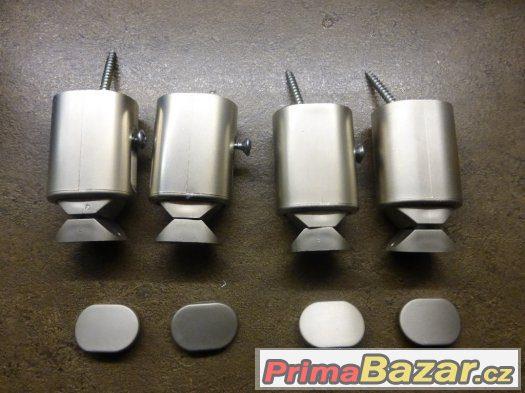 Nástěnný elektrický radiátor 120x55, povrch nerez