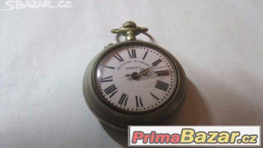 Starozitne masivne panske svycarske kapesne hodinky Roskopf