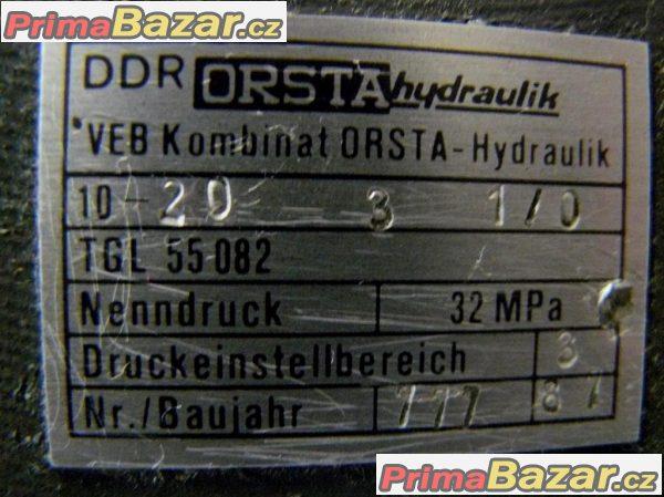 Rozvaděč hydraulický s elektronikou P45-W TGL 55090 ORTHA