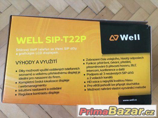 WELL SIP-T22P IP Telefon