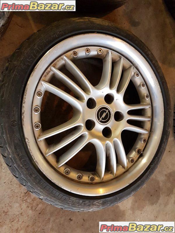 3x alu kolo Opel Irmscher 5x110 7.5jx17 et45