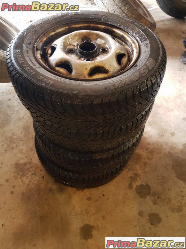 plechobe disky s pneu Sava 4x114.3 165/70 r13