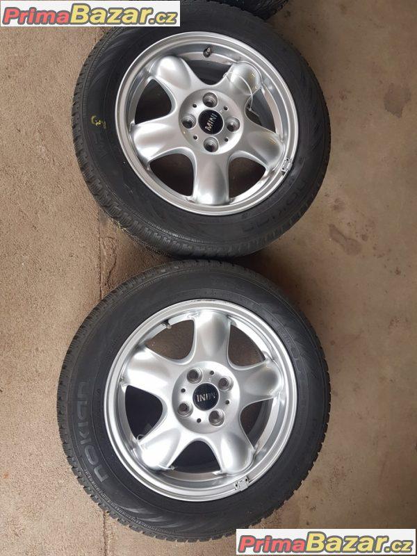 zánovní sada minicooper s pneu Nokian 6769404 4x100 5.5jx15 is