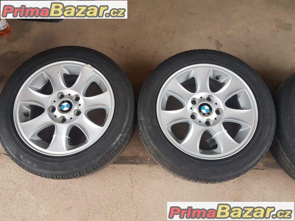 sada alu kola Bmw s pneu letni 6769402 5x120 7jx16 is44