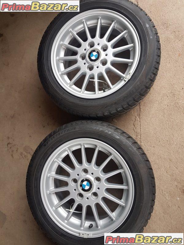 zanovni sada alu kola Bmw s pneu Dunlop 6769229 5x120 7jx16 is34