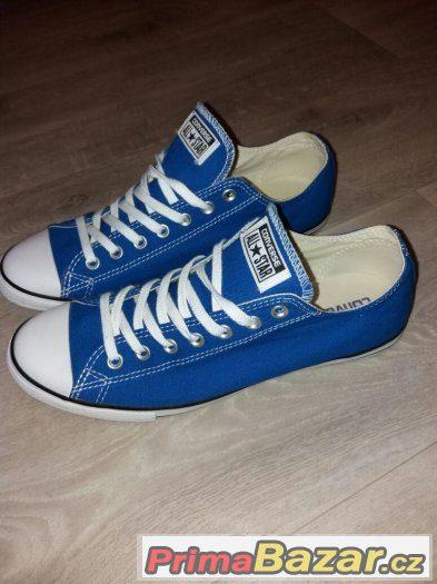 Prodam panskou obuv znacky Converse. Platene tenisky modre barvy.Obuv jsem  mel pouze 1x na noze.Objednal jsem si spatnou velikost.obuv je spise mensi 443992d211e