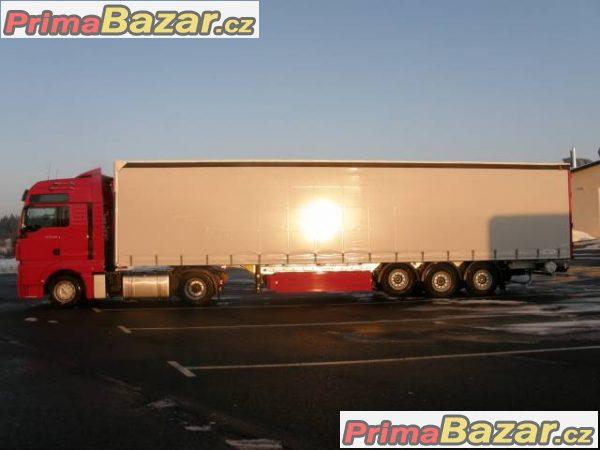 Výhodná práce pro řidiče kamionu