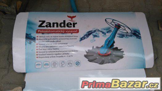 Filtrace, solární panel +poloautomaticky vysavač