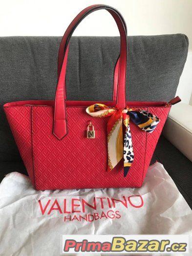 941d62febe VALENTINO červená kabelka shopper