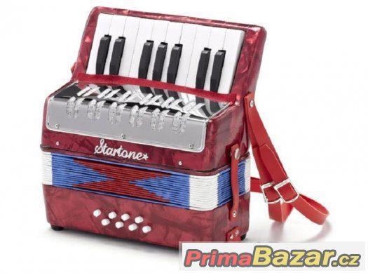 Prodám dětský Akordeón StarTone ( Harmoniku )