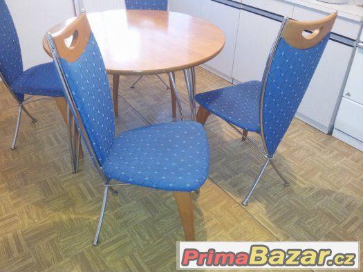 Kuchyňský kout 4x židle+stůl