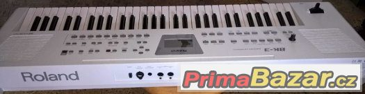 Keyboard ROLAND - BK-3 - v bílém provedení