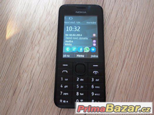Nokia 208, 1MPx,slot na microSD,klas.tlač.Nokia.
