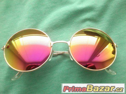 ed216acd8 Prodám nové,nevyužité sluneční brýle.Čočky jsou velké cca 5,5 cm z každé  strany.Obroučky jsou tenké,zdánlivě křehké,ale poměrně  stabilní.Materiál=zinek.