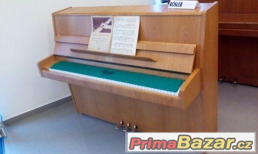 Rosler/Petrof/Prodám téměř nepoužívané pianino ROSLER