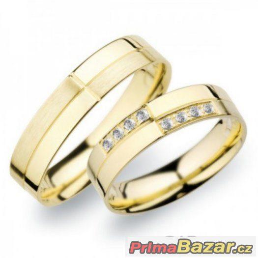 Prodám nové snubní prsteny