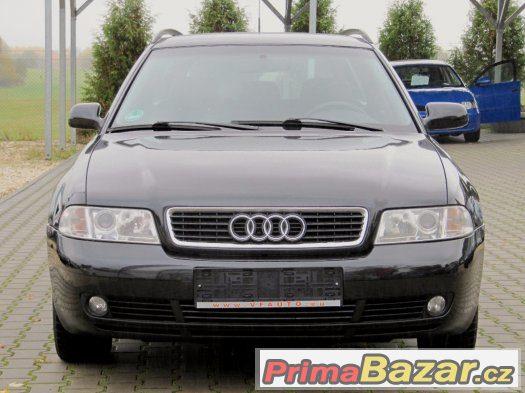 Audi A4 1.6i,Avant,75KW,climatronic,servisní kniha,bez rezu
