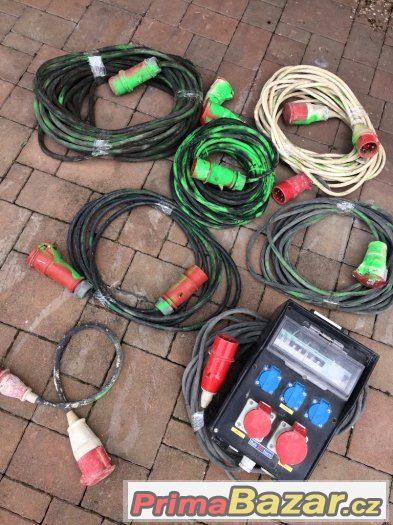 Výprodej profi prodlužovací kabelů