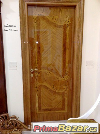 Totálně výprodej italských luxusní masivní dveře se 60-70%
