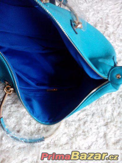 764faf5e98 nova-tyrkysova-kabelka-s-visackou-od-peace-jeans. Prodam uplne novou  tyrkysovou ...