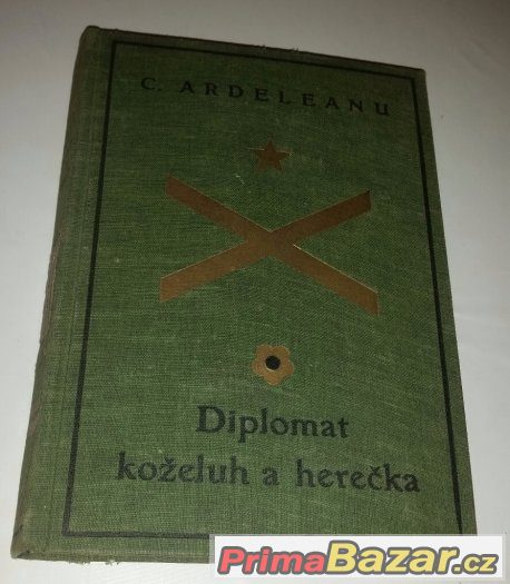 Prodám knihu Diplomat, koželuh a herečka