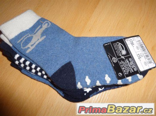 Ponožky nové, nepoužité, cca 2-3 roky