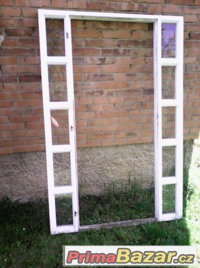 Prodám dveře z masivu + rám