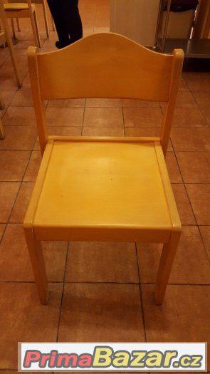 Židle a stoly do jídelny