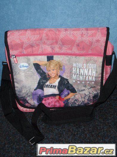 6b343689e0 Dívčí kabela s motivem Hannah Montana