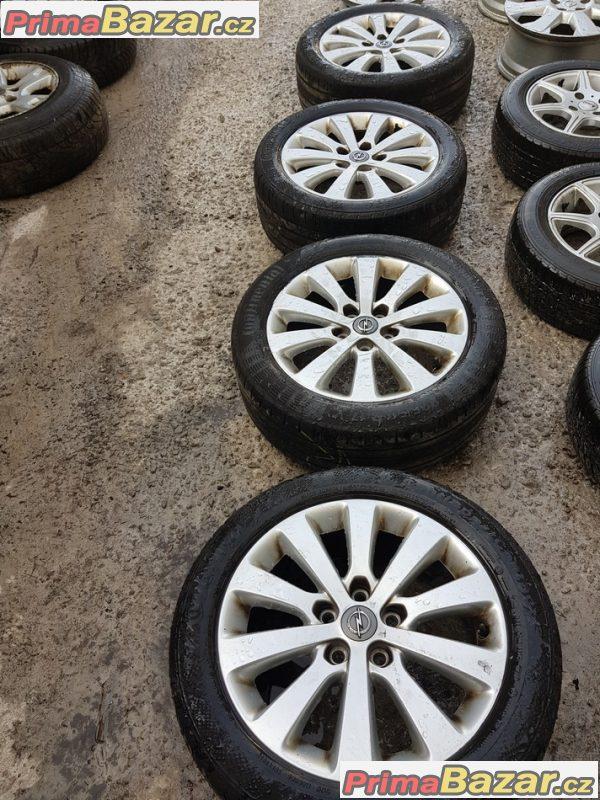 alu kola Opel 0P044K4 germ 5x115 7jx17 is44