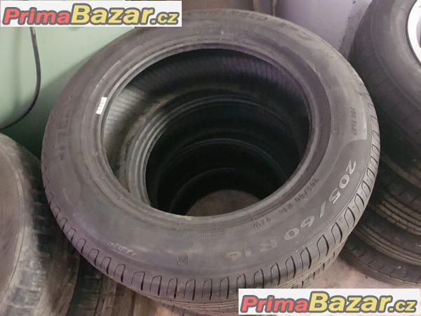 sada pneu r16 2x70% a 2x60% vzorek Pirelli Cinturato p7 205/60 r1