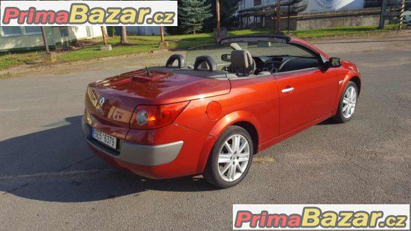 prodam Renault Megane cc cabriolet Karman Panorama  1.9dci 88kw r.v 2004