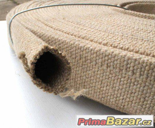 Textilní hadice zplošťovací.