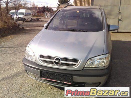 Opel Zafira 2.0 DTi R.v. 7/2004 7 Míst. Vadná spojka
