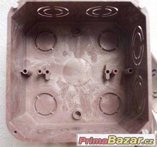 Krabice elektroinstalační, odbočná