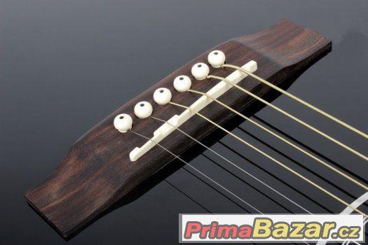 Prodám novou elektro - akustickou kytaru + príslušenství ZDA