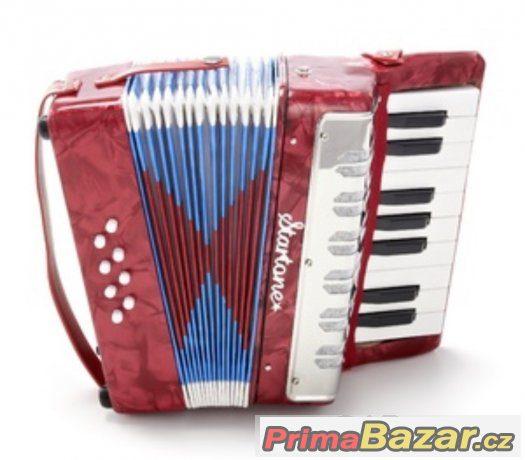 Prodám nový dětský akordeón StarTone ( Harmoniku )