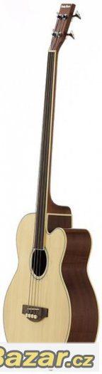 Prodám novou elektro-akustickou bezpražcovou baskytaru