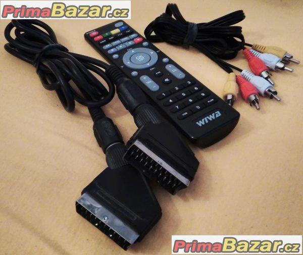 Satelitní přijímač DVB-S Ferguson FK 6900 CR se čtečkou karet.
