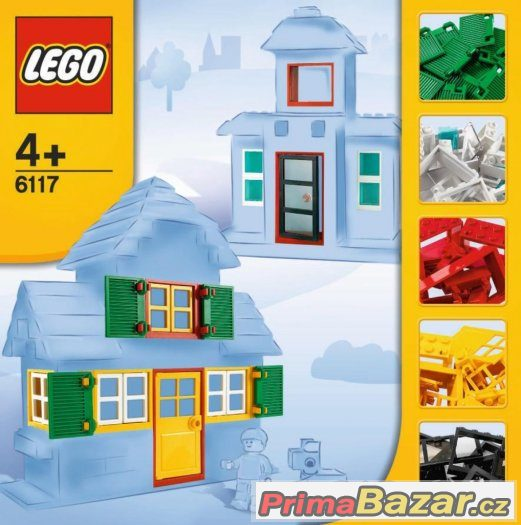 Sháním LEGO 6118 kolečka,popř.6117 okna dveře,6119 stř.tašky