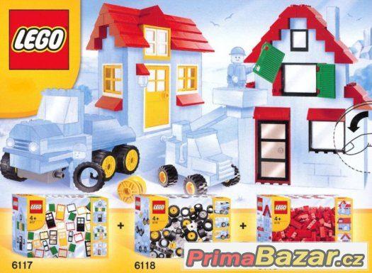 Sháním LEGO 6117 okna dveře,6118 kolečka,6119 stř.tašky