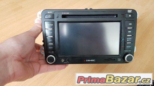 Prodam 2 din radio Zenec MC-2000