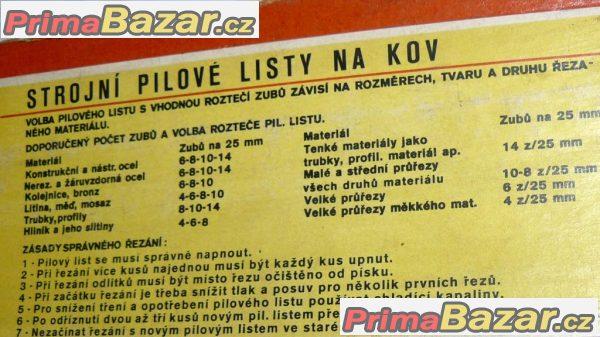 PILOVÝ LIST STROJNÍ NA KOV 450x35x2-4z  RAPID EXTRA Pilana