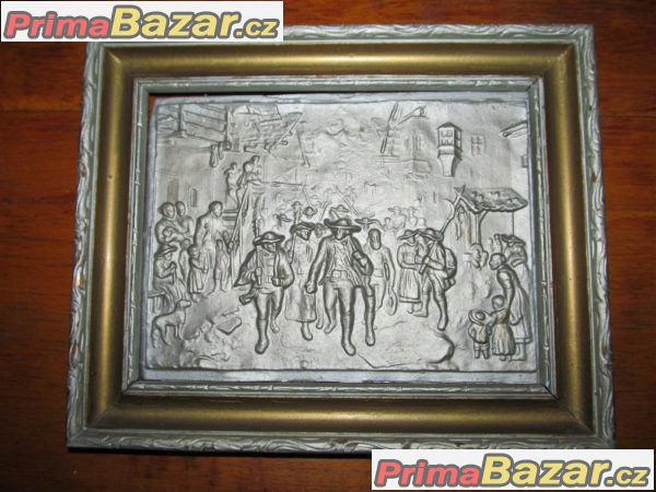 Kovový obraz 3