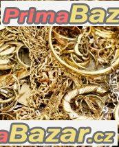 Koupím poškozený zlatý šperk