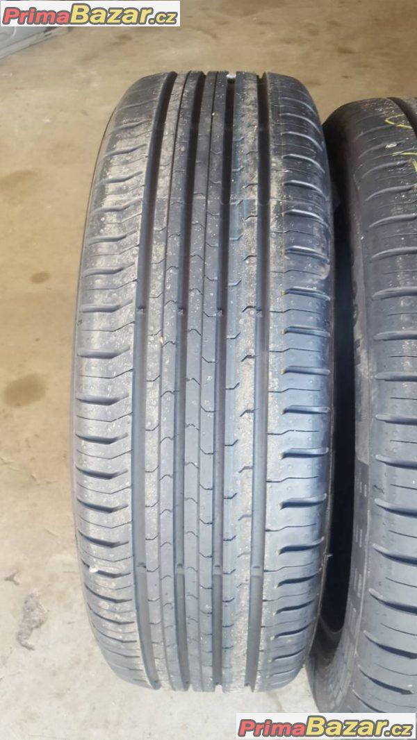 4xnove pneu dot0317 r20 3xpneu Continental contact 5  195/55 r20 h xl a 1xpneu