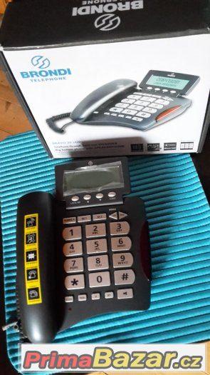 Telefon pro seniory Brondi Bravo 20