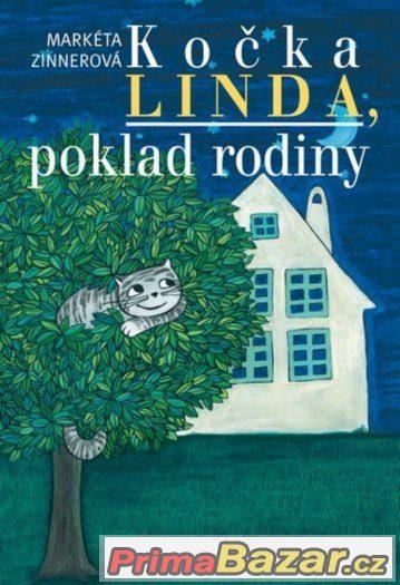 Kočka Linda, poklad rodiny ( Kniha je nová)